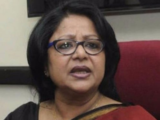 Congress expels Barkha Shukla