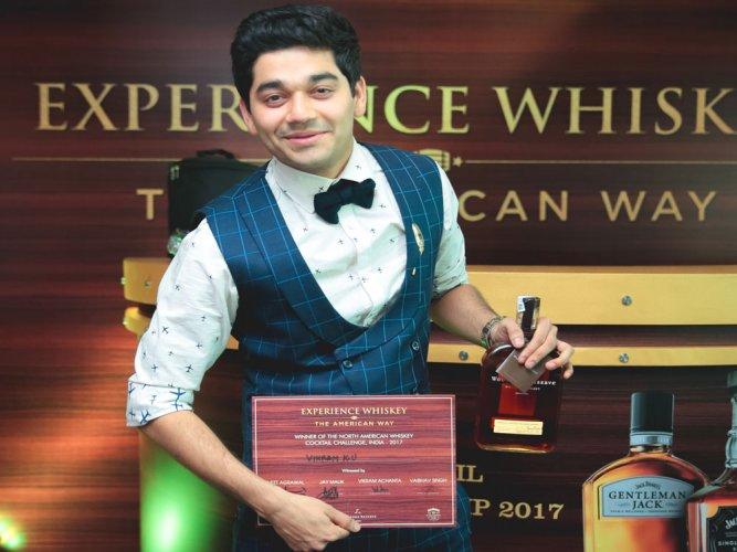 Delhi mixologist wins N American whiskey cocktail championship