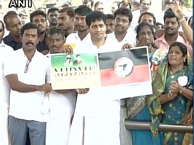 Deepa Jayakumar's husband launches political party