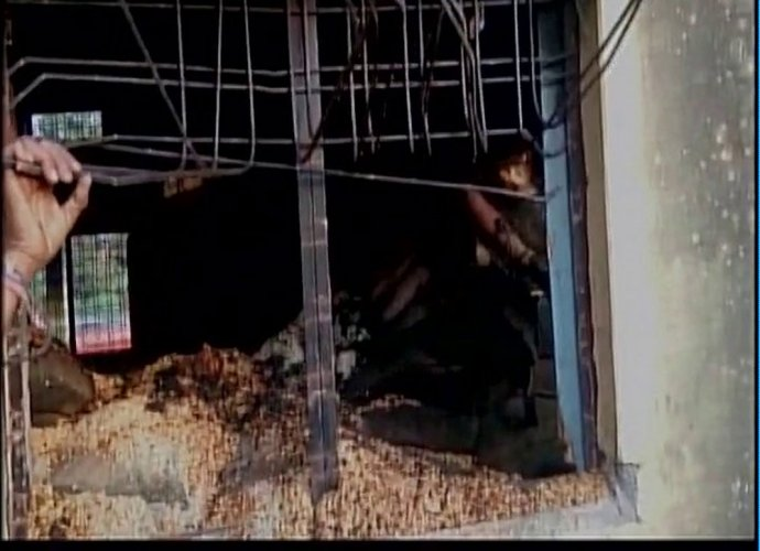 Fire breaks out at PDS shop in MP; 14 charred to death