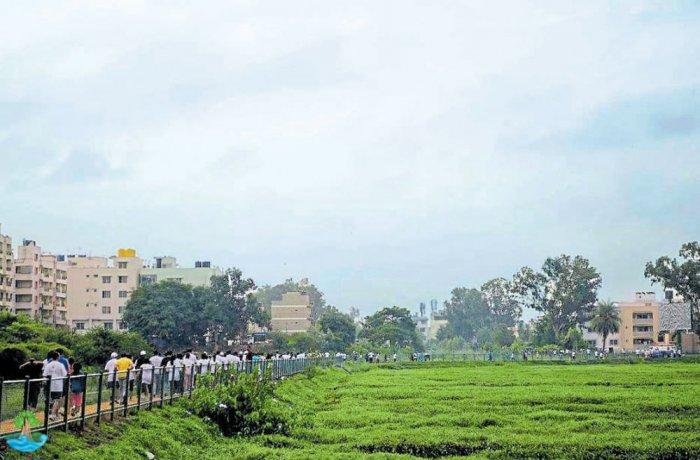 Promises unkept, another run to save Vibhutipura lake tomorrow