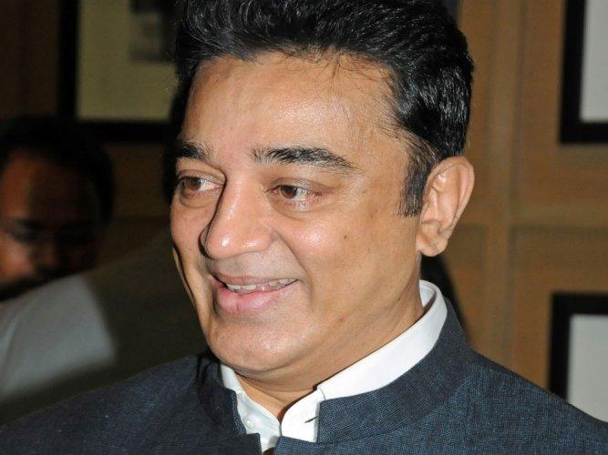 Kamal Hassan praises Sathyaraj for expressing regret