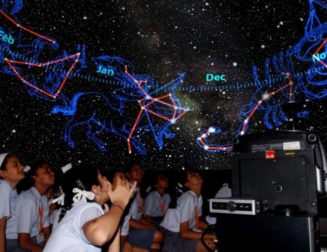 Taking astronomy to grassroots gets thumbs up from students
