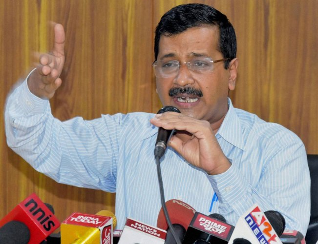 Don't risk lives of your children by voting for BJP: Kejriwal
