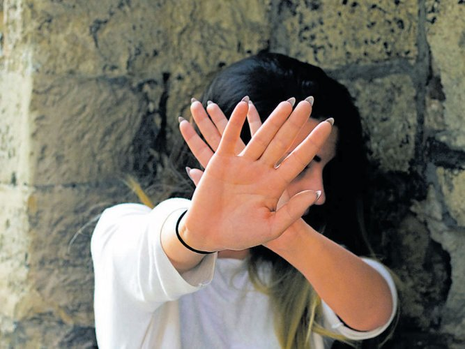 Man held for 'molesting' woman