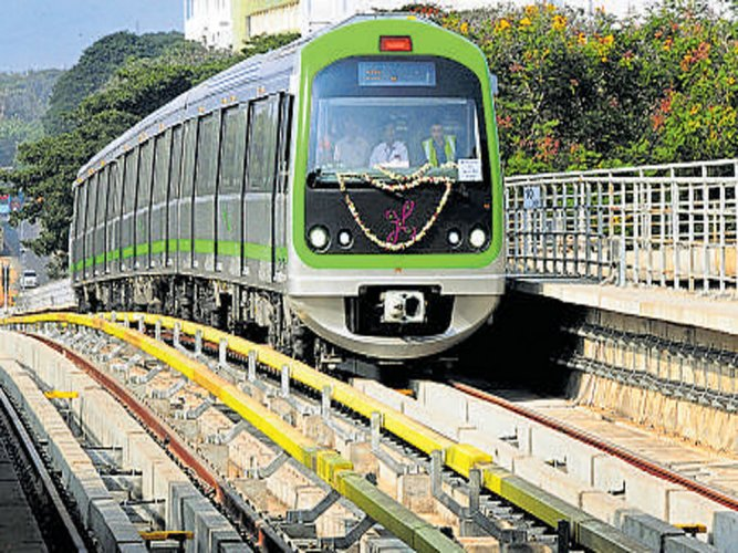 Disruption in Metro services
