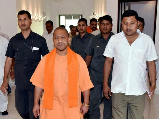 Install biometric attendance system in all offices upto Block level: Adityanath