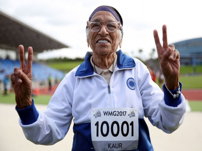 No hurry as India's inspirational centenarian wins gold