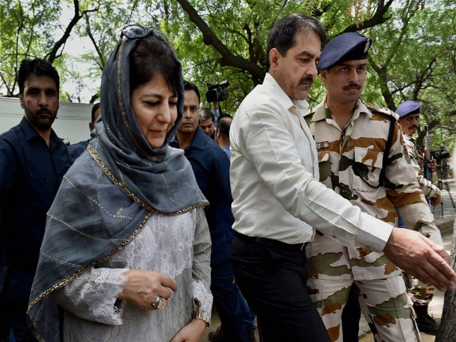 Situation in Kashmir will improve in 2-3 months: Mehbooba
