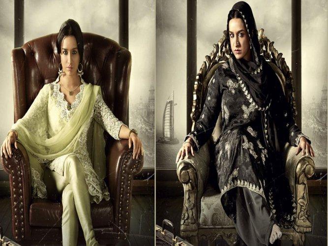 Shraddha Kapoor undergoes drastic transformation for 'Haseena'