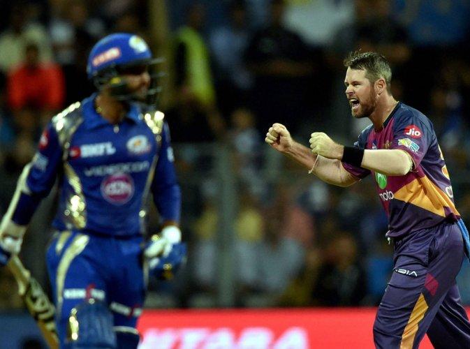 Pune beat MI by three runs in tense finish