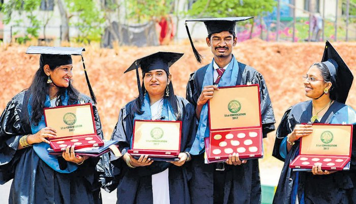 Farmer's son reaps 11 gold medals at agriculture varsity convocation