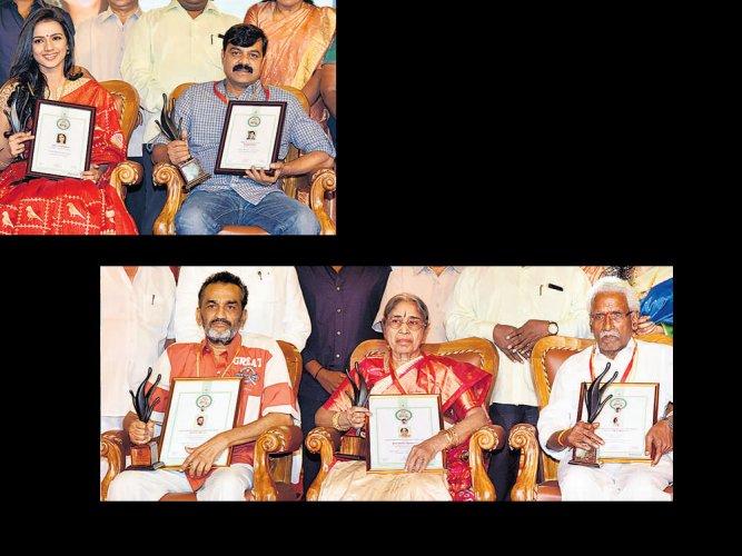 Film awards: Amaravathi, Kirik Party steal the show