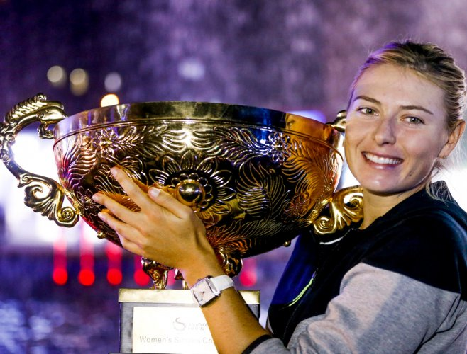 Sharapova rags-to-riches journey resumes in Stuttgart