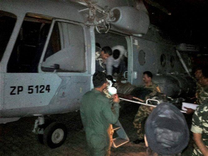 CRPF jawans were having lunch when Maoists ambushed them