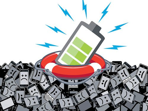 Self-charging smartphone batteries in the offing