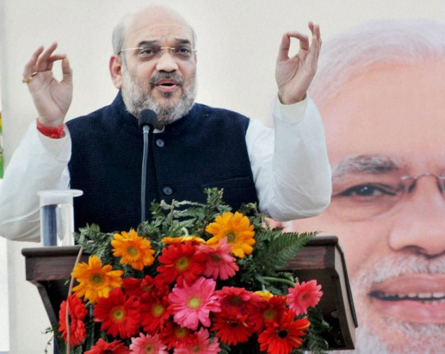 Amit Shah kicks of BJP's expansion drive from Naxalbari in WB