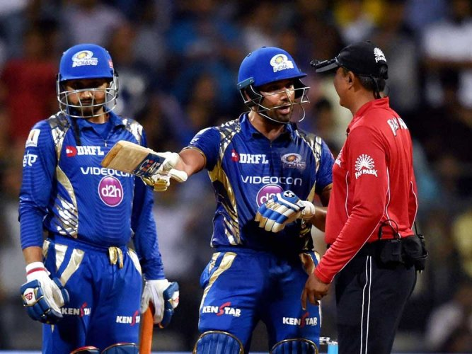 Now, Rohit fined for dissent