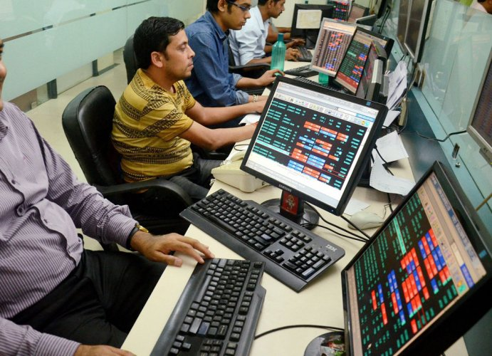 Nifty breaches 9,300-mark for first time.