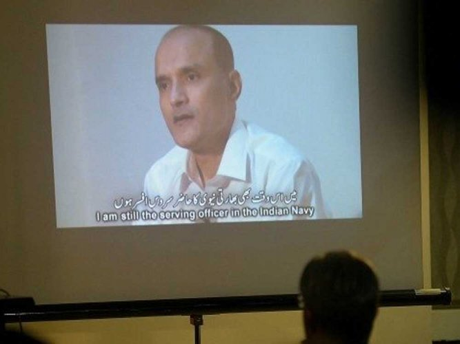 Jadhav case: India hands over mother's appeal to Pak