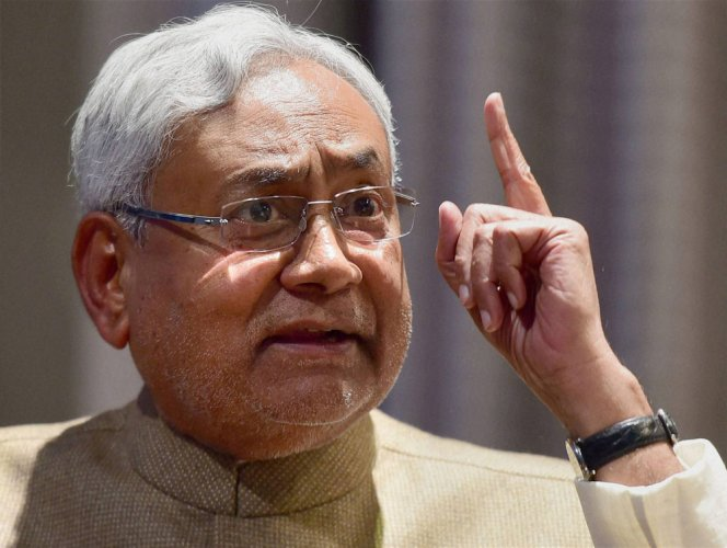 Nitish draws flak for 'disrespect' towards Sukma martyrs