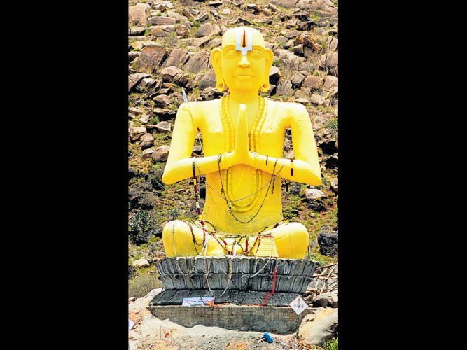 36-ft Ramanujacharya statue unveiled