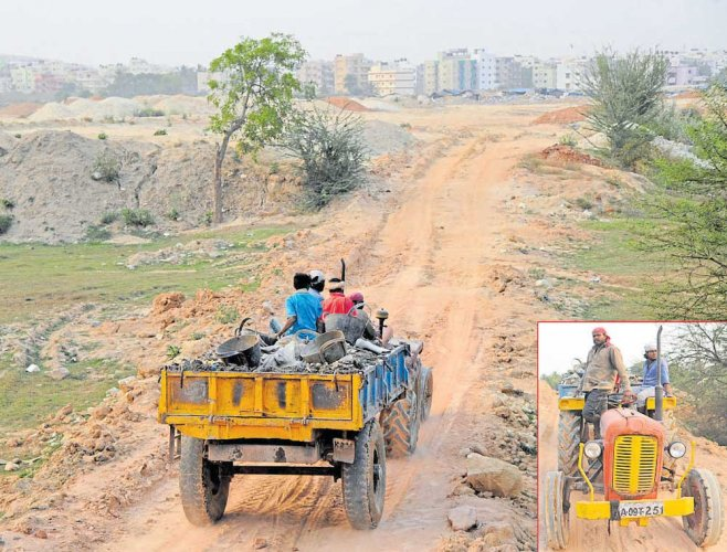 Facelift work begins at polluted lakes