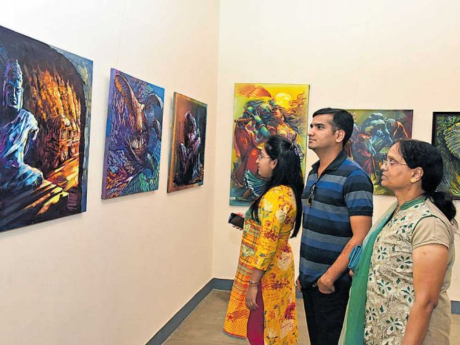 Art expo holds a mirror to life's experiences