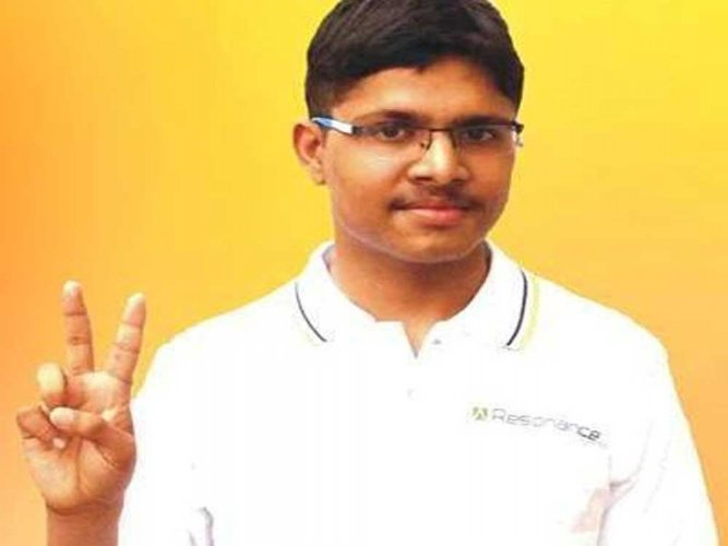Udaipur boy tops JEE-Main, scores 100 per cent