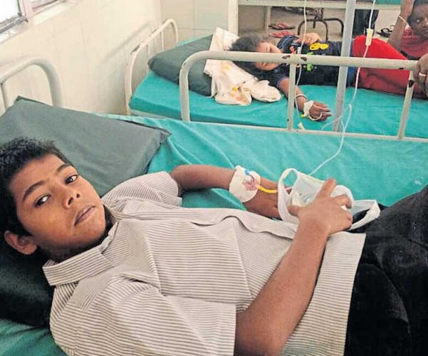 4 food-poisoning victims discharged