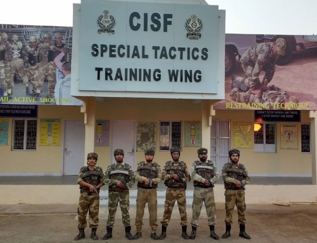 CISF trains commandos in precision firing to secure airports