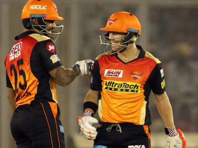 Hyderabad set Punjab a stiff 208-run target