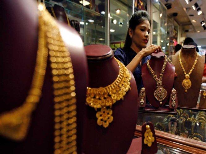 Gold prices up on account of Akshaya Tritiya