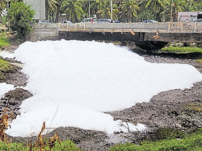 Brigade Group accused of dumping soil in Varthur lake
