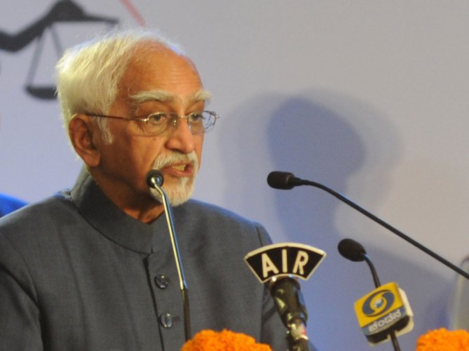 Terrorism is pandemic and affects every country: Hamid Ansari