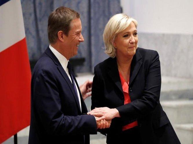 Le Pen announces eurosceptic PM pick, if she wins