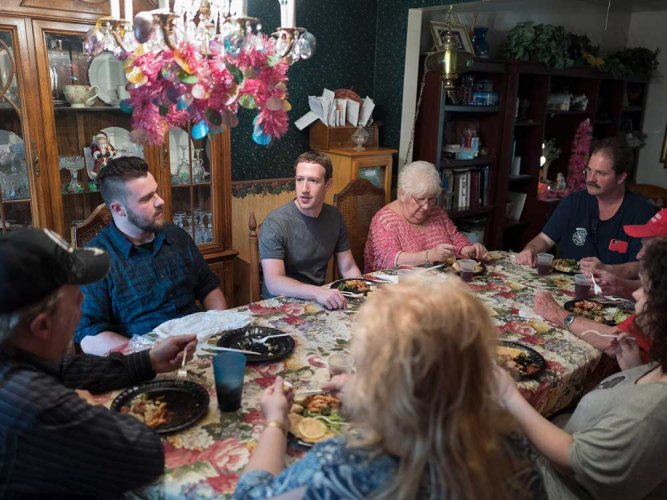 Ohio family surprised when Mark Zuckerberg comes to dinner