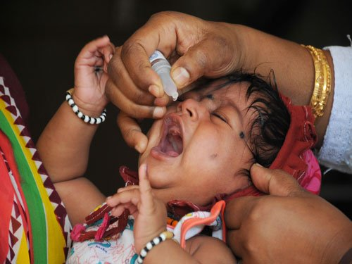 Second round of polio immunisation drive across state today
