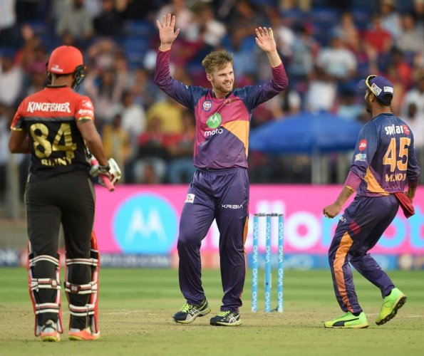 RCB exit without a fight
