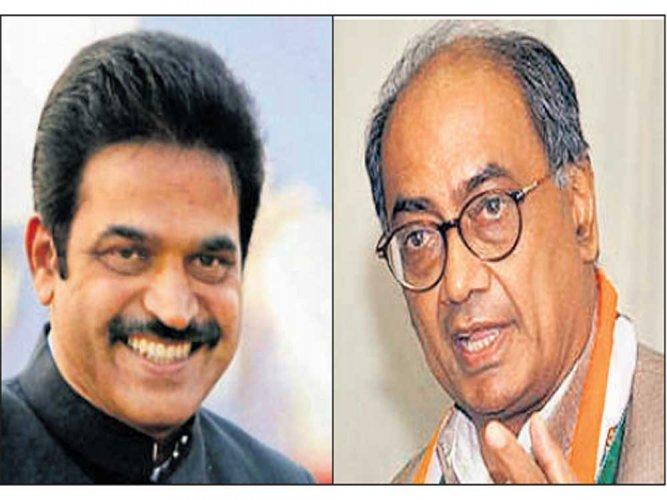 Digvijaya dropped as in charge of Karnataka
