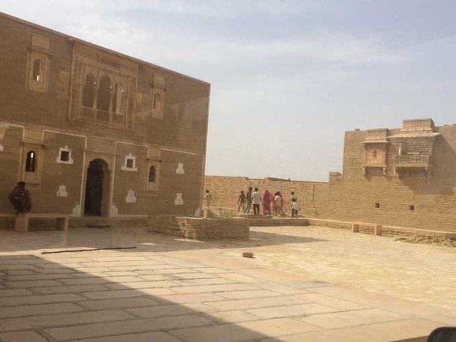 Restoring the ruins or building a resort?