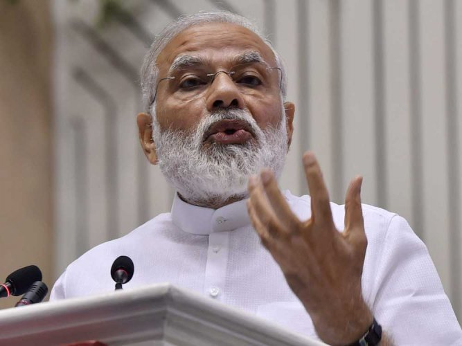 Don't politicise triple talaq issue, appeals Modi
