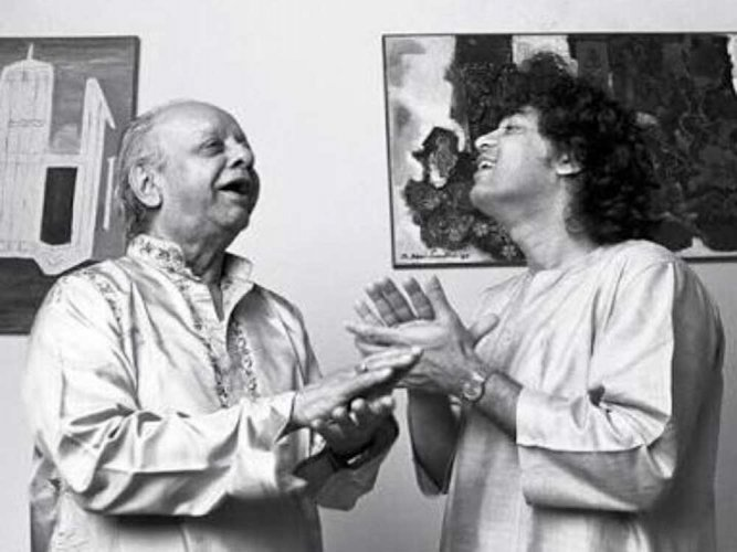 Zakir Hussain's touching tribute to father Alla Rakha on birth anniversary