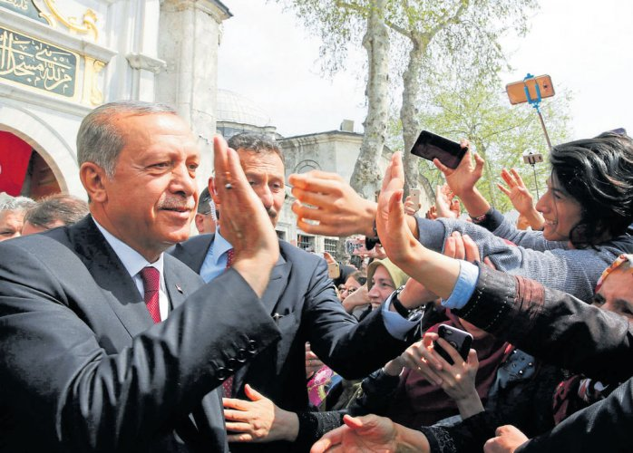 Turkish President Erdogan in India; to hold talks with Modi