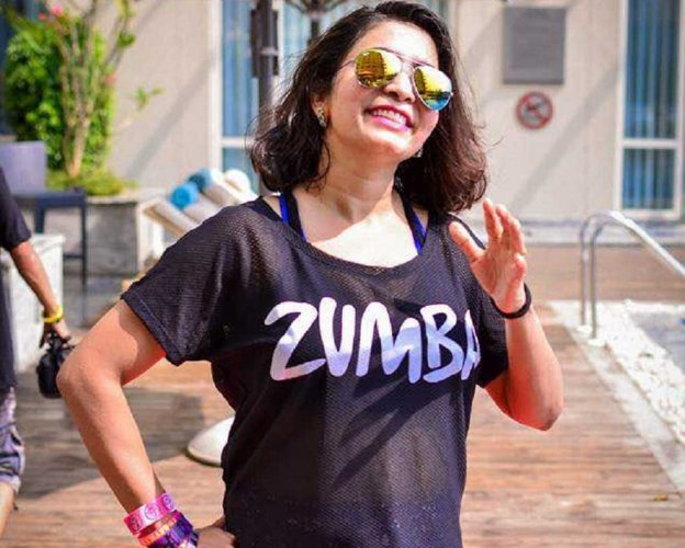 'Zumba is a workout  in disguise'