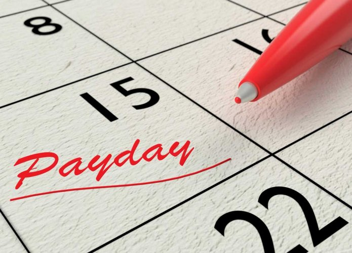 What do you do with the money that you get on salary day?