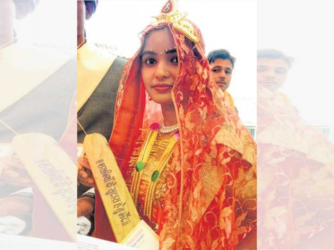 700 brides gifted bats to fix drunk hubbies