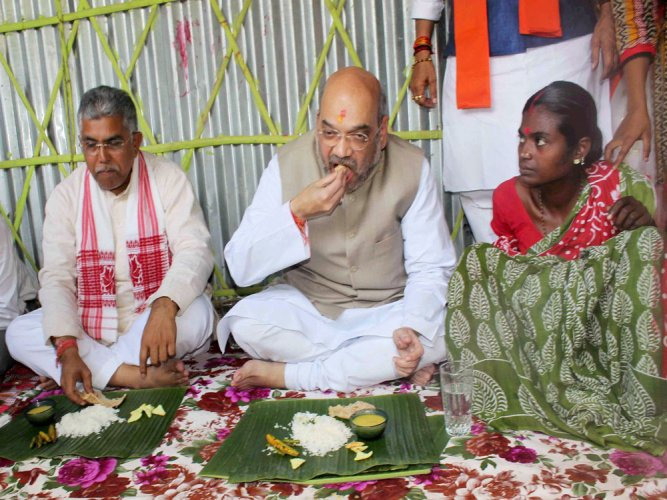 BJP attacks Mamata for 'coercing' couple