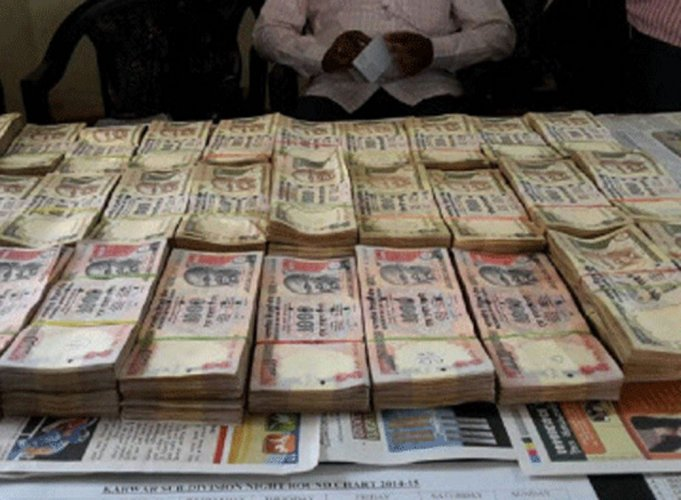 Five arrested with scrapped currency worth over Rs. 70 lakh
