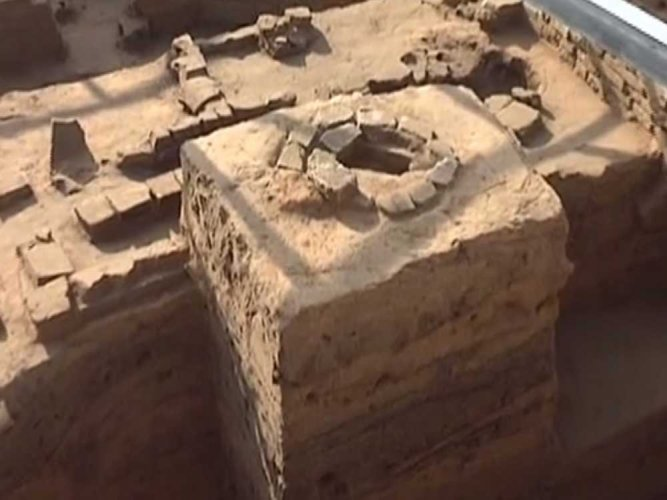 Ancient city ruins discovered in China